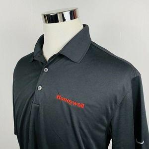 Nike Medium Dri Fit Polo Shirt Honeywell Black